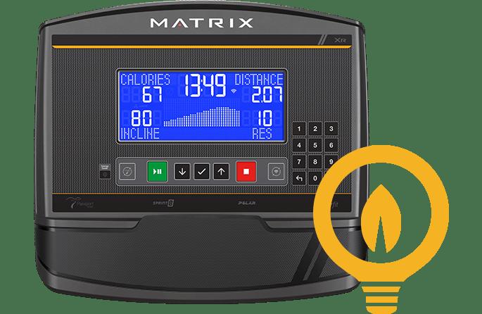 tính năng tiết kiệm năng lượng Xe đạp Matrix U30 XR