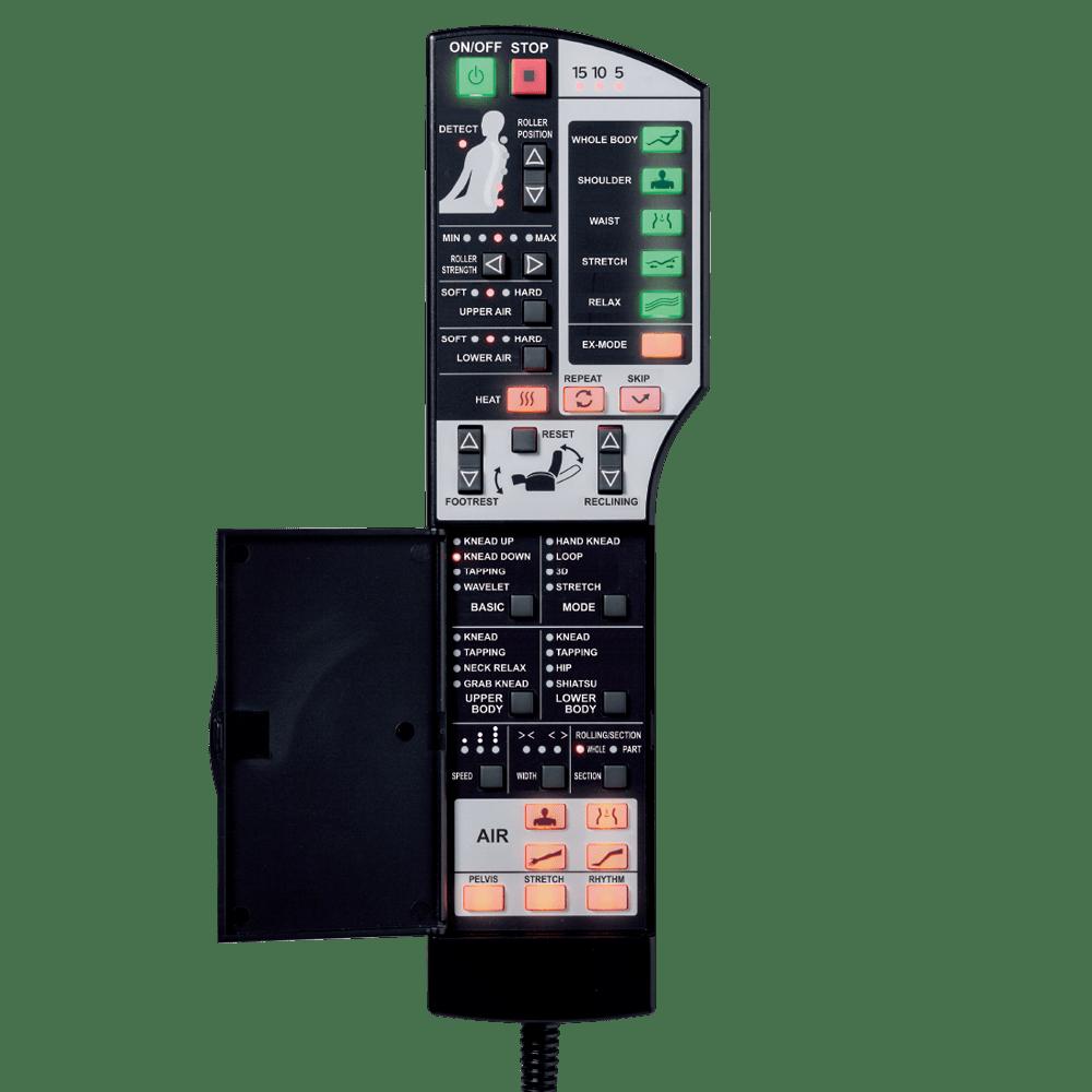 remote của ghế massage toàn thân ec3900