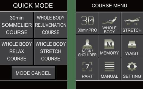 remote điều khiển của ghế massage nhật bản JP1100