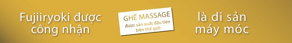 Ghế massage toàn thân Nhật bản JP-1000