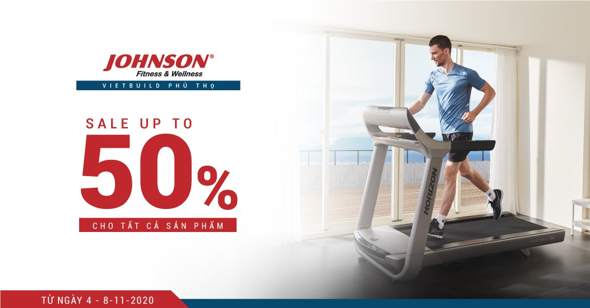 Johnson Health Tech tham gia triển lãm Quốc tế Vietbuild Phú Thọ - Sale up to 30%